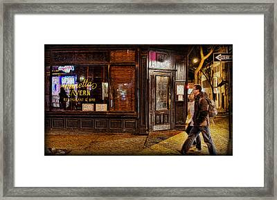 Minetta Tavern Framed Print by Lee Dos Santos