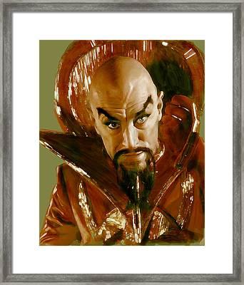 Ming Framed Print by Kurt Ramschissel