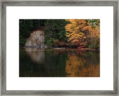 Minge Cove Framed Print by Mim White