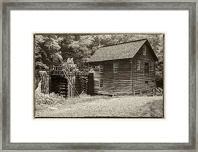 Mingus Mill Antiqued Framed Print