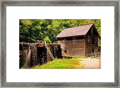 Mingus Mill Framed Print by Karen Wiles