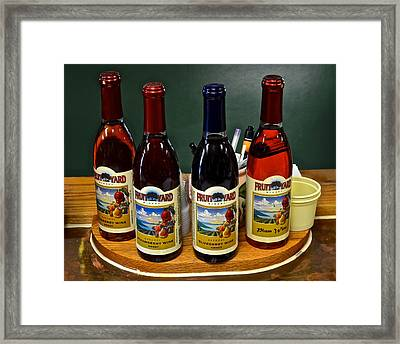 Mini Bar Framed Print by Frozen in Time Fine Art Photography