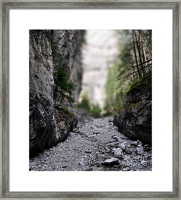 Mini Canyon Framed Print