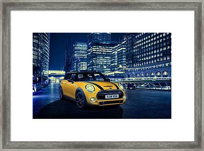 Mini Cooper S 2014 Framed Print