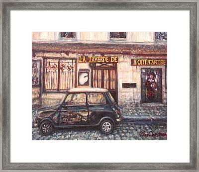 Mini De Montmartre Framed Print by Quin Sweetman