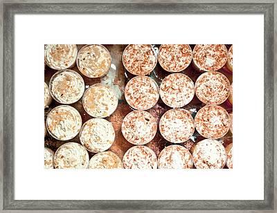 Mini Desserts Framed Print by Tom Gowanlock