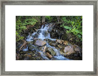 Mini Falls Framed Print