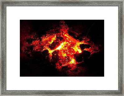 Mini-hell Framed Print