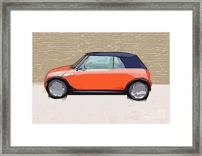 Mini Makeover Framed Print by Bruce Stanfield
