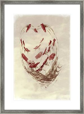 Mini Mum Art Bouquet Framed Print
