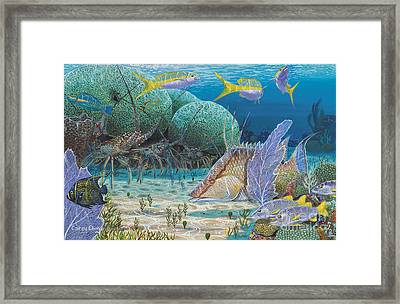 Mini Season Re0017 Framed Print by Carey Chen