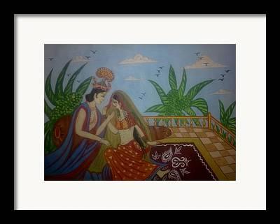 Syeda Ishrat Framed Prints