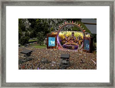 Miniature Concert Framed Print
