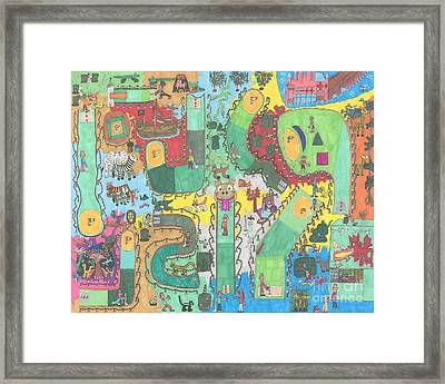 Miniature Golf Framed Print