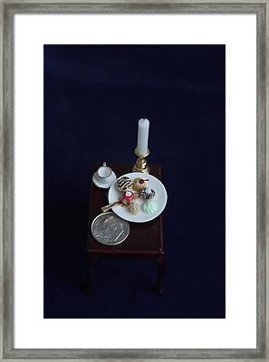Miniatures O O A K Framed Print by David Bearden