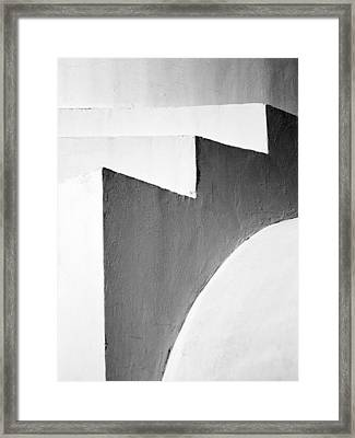 Minimal Stairs Framed Print by Stelios Kleanthous