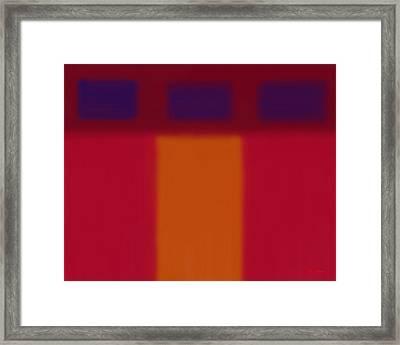 Minimalist In Thirds Framed Print by Tim Stringer