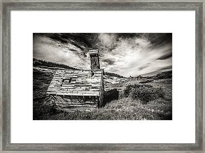 Quartz Mountain 5 Framed Print by Yo Pedro