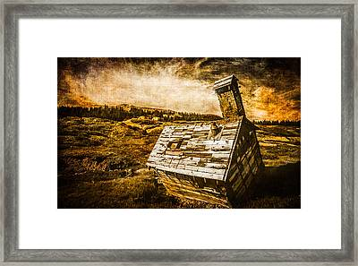 Quartz Mountain 2 Framed Print