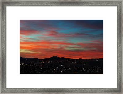 Mining City Goodnight Framed Print by Kevin Bone