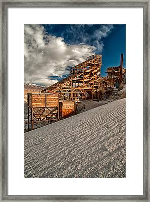 Mining Days Framed Print by Cat Connor