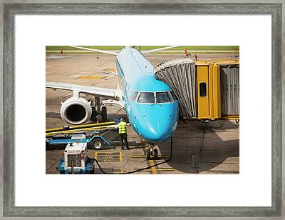 Ministro Pistarini International Airport Framed Print