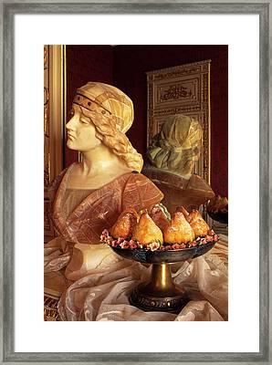 Minne Di Vergine, Virgin Tits Cakes Framed Print by Nico Tondini