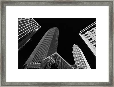 Minneapolis After Dark Framed Print by Rachel Cohen