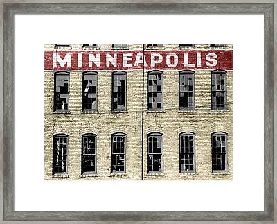 Minneapolis Framed Print