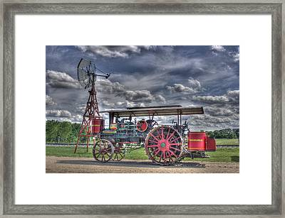 Minneapolis At The Windmill Framed Print