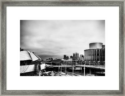 Minneapolis From The University Of Minnesota Framed Print by Tom Gort