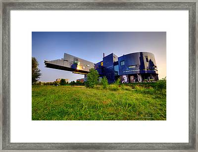 Minneapolis Guthrie Theater Summer Evening Framed Print