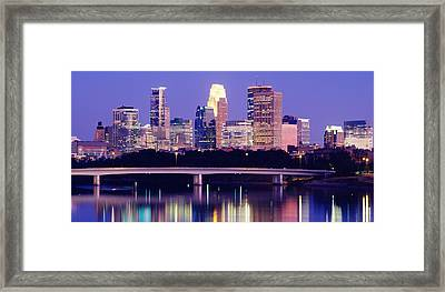 Minneapolis Mn Framed Print by Panoramic Images