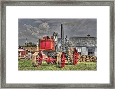 Minneapolis Return Flue  Framed Print