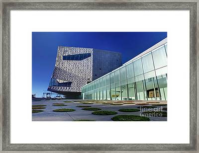 Minneapolis Skyline Photography Walker Art Museum Framed Print
