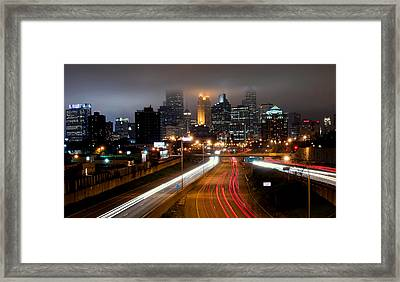 Framed Print featuring the photograph Minneapolis Skyline Mn by RC Pics