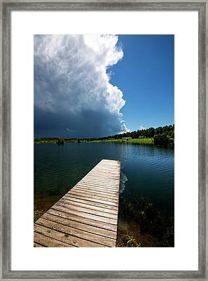 Minnesota, Duluth, (large Format Sizes Framed Print by Peter Hawkins
