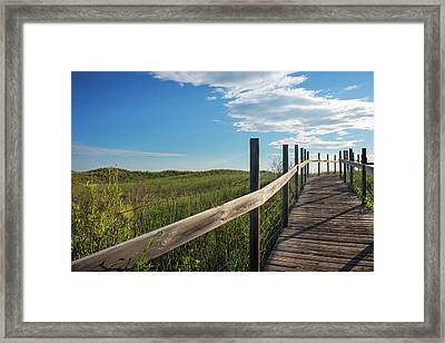 Minnesota, Duluth, Park Point Framed Print by Peter Hawkins