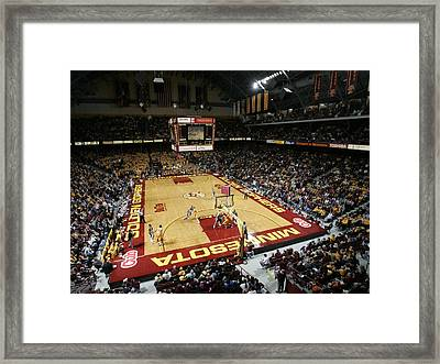 Minnesota Golden Gophers Williams Arena Framed Print by Replay Photos