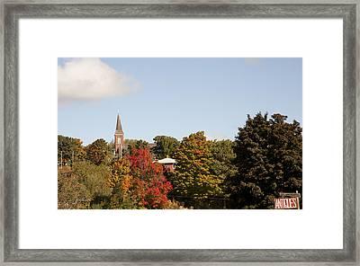 Minnesota In The Fall Framed Print