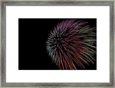 Minnesota, Mendota Heights, Fireworks Framed Print by Bernard Friel