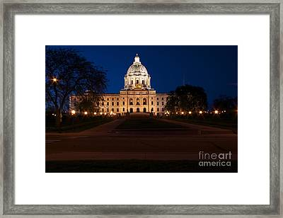 Minnesota State Capitol Framed Print by Kevin Jack