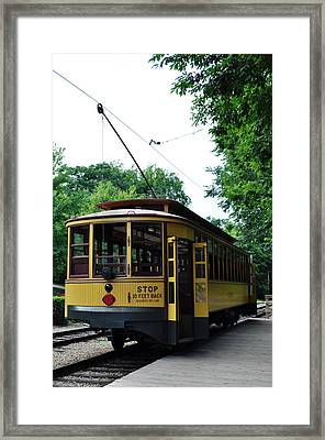 Minnesota Streetcar Museum Framed Print