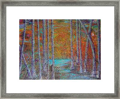 Minnesota Sunset Framed Print