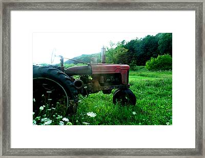 Minnesota Tractor Framed Print by J Montee
