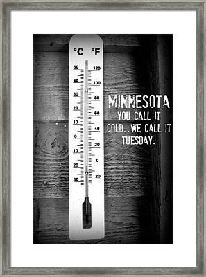 Minnesota Travel Poster Framed Print