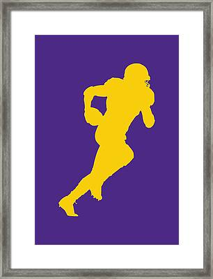 Minnesota Vikings Adrian Peterson Framed Print