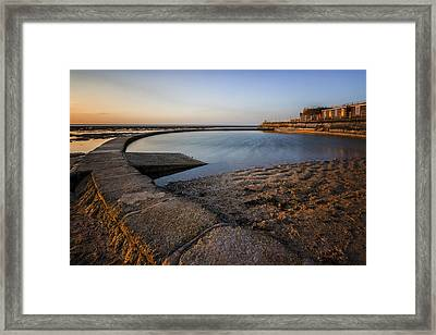 Minnis Bay Thanet Framed Print by Ian Hufton