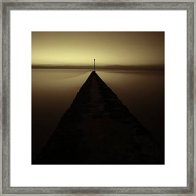 Minnis Bay Tranquility Framed Print