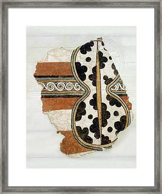 Minoan Livestock Painting Framed Print by Ellen Henneke